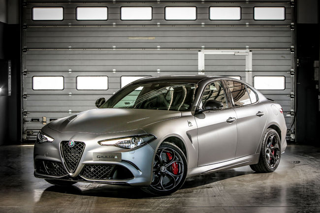 Alfa Romeo : éditions limitées Giulia et Stelvio NRING