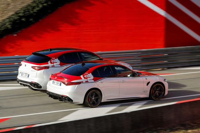 Éditions limitées Giulia et Stelvio Alfa Romeo Racing