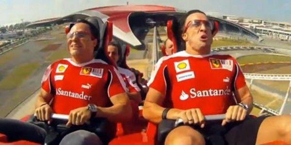 Un tour à bord du Formula Rossa