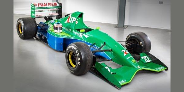 A saisir : rares monoplaces Jordan F1