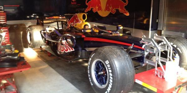 A vendre : Red Bull RB3 de 2007 ex-Mark Webber