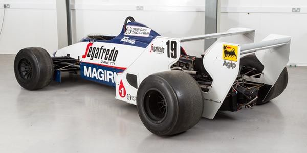 a vendre toleman tg183b ex ayrton senna actualit. Black Bedroom Furniture Sets. Home Design Ideas