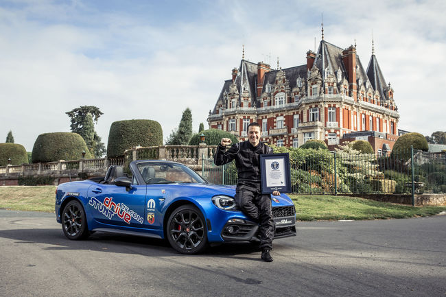 Un Guinness World Record pour l'Abarth 124 Spider