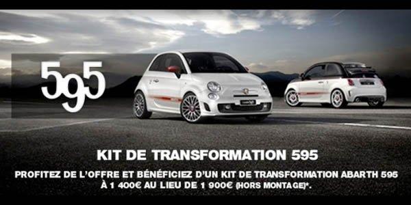 Transformez votre Fiat 500 Abarth en 595
