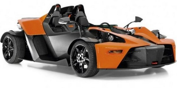 Abarth roadster basé sur KTM X-Bow