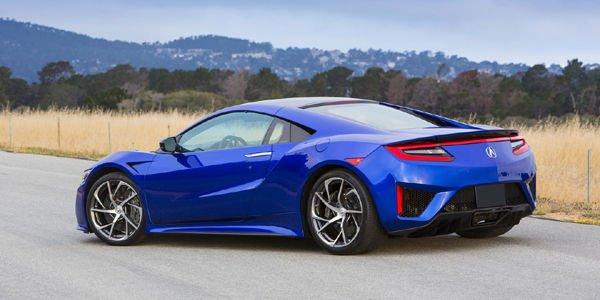 Acura NSX : les derniers chiffres