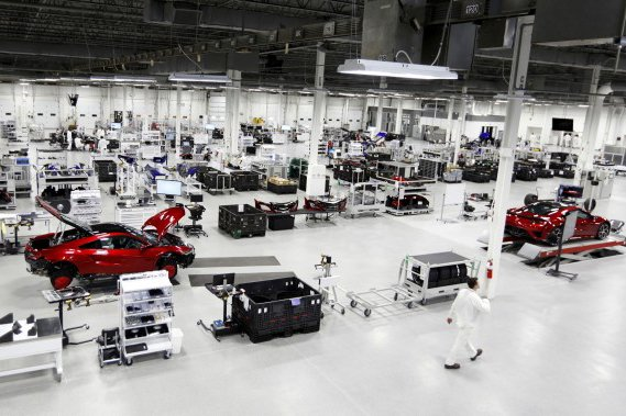 Acura NSX : lancement de la production en avril