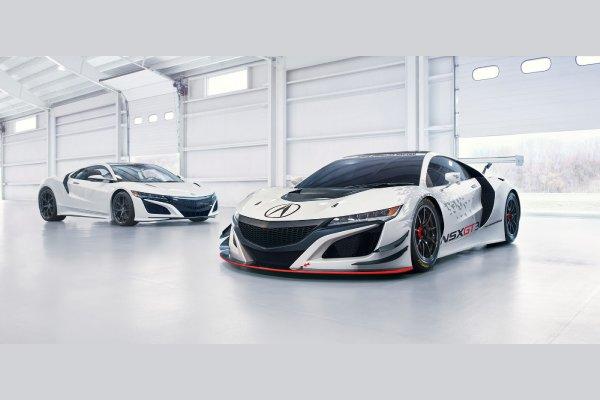 Déjà une version GT3 pour l'Acura NSX