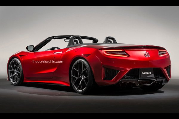 Acura NSX Cabriolet : comme ça ?