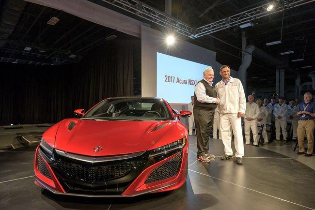 Acura NSX : premier exemplaire livré