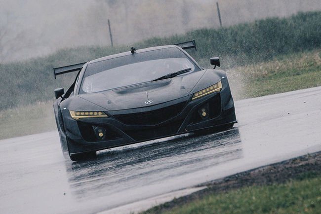 Acura NSX GT3 : nouvelles images