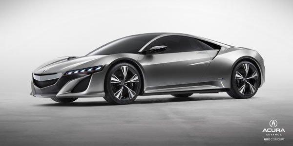 Une NSX Hybride en course dès 2015 ?