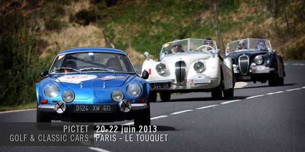Golf & Classic Cars : mariage heureux
