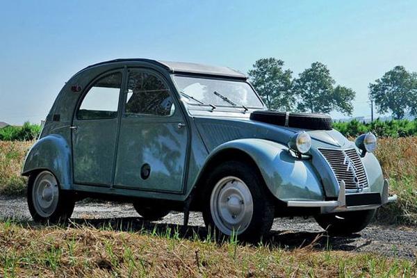 Aguttes : résultat de la vente officielle du centenaire Citroën