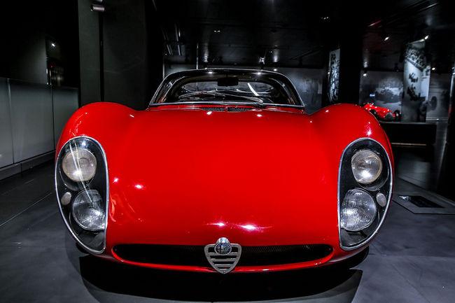 Les 50 ans de l'Alfa Romeo 33 Stradale célébrés à Arese