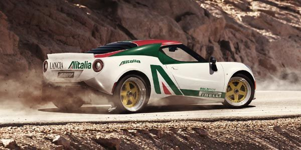 L'Alfa Romeo 4C héritière de la Lancia Stratos ?