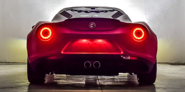 Alfa Romeo 4C La Furiosa par Garage Italia Customs