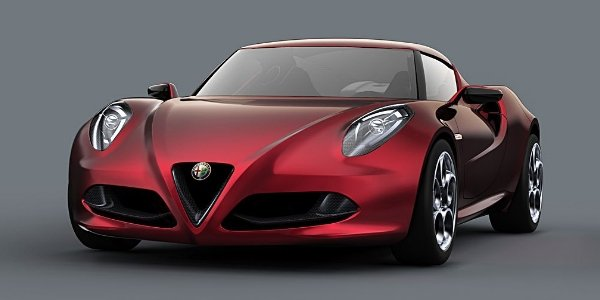 L'Alfa Romeo 4C va enlever le haut !