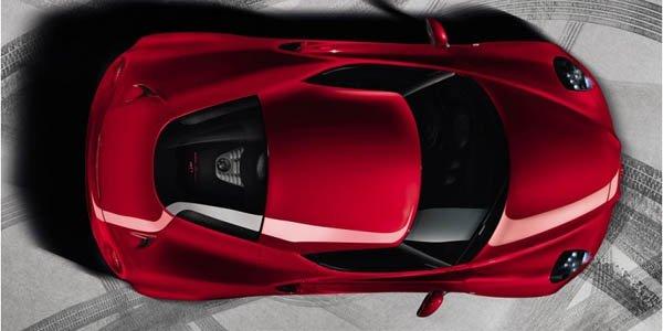 L'Alfa Romeo 4C se dévoilera à Genève