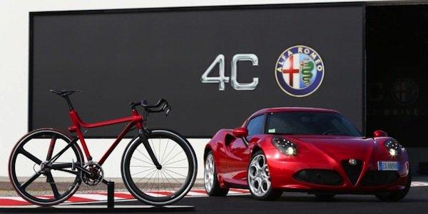 L'Alfa Romeo 4C se décline en... vélo !