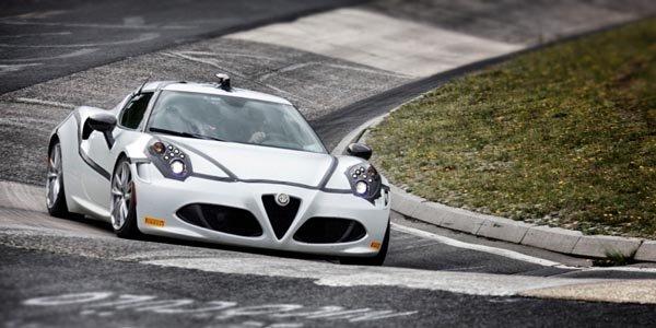 L'Alfa Romeo 4C en 8'04 sur le Ring