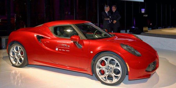 L'Alfa Romeo 4C élue plus belle voiture