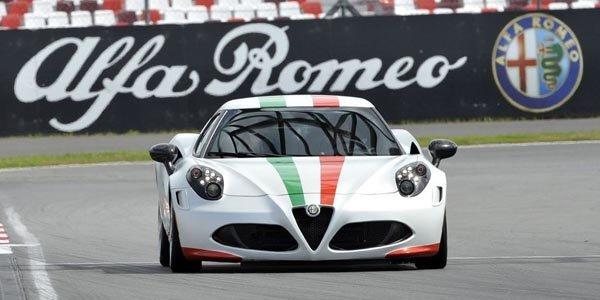 Alfa Romeo au départ du mondial SBK