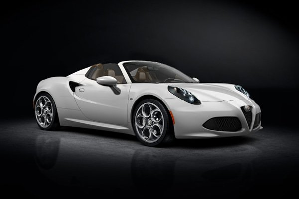 fantasme alfa romeo 4c spider actualit automobile. Black Bedroom Furniture Sets. Home Design Ideas
