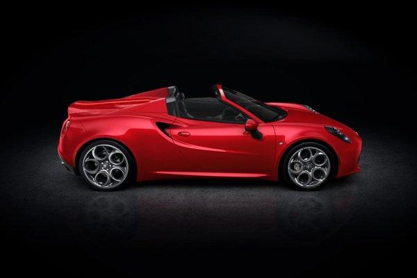 fantasme alfa romeo 4c spider actualit automobile motorlegend. Black Bedroom Furniture Sets. Home Design Ideas