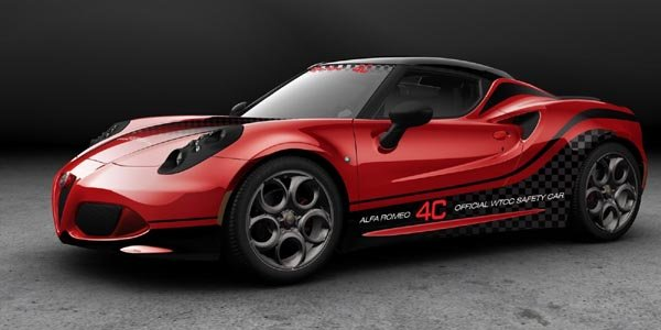 L'Alfa Romeo 4C Safety Car en WTCC