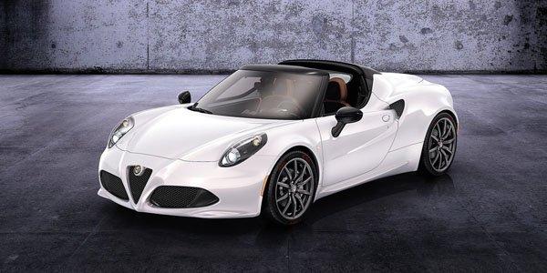 Du nouveau pour l'Alfa Romeo 4C