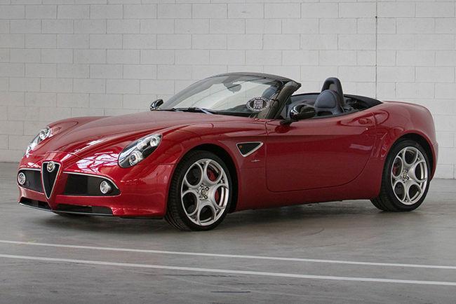 A vendre : Alfa Romeo 8C Competizione et 8C Spider