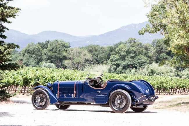 Bonhams : une Alfa Romeo 8C au Goodwood FoS