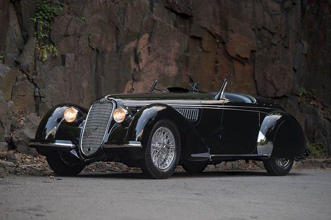 Une Alfa 2.9 aux enchères RM Sotheby's de Monterey