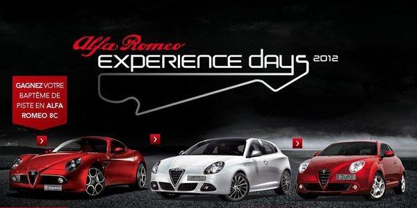 Alfa Romeo ouvre la piste à ses clients