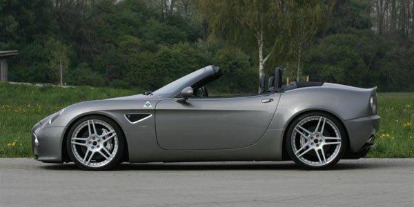 Novitec retouche l'Alfa Romeo 8C