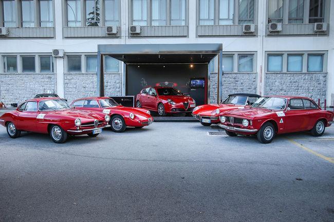 Alfa Romeo a animé la Targa Florio 2017