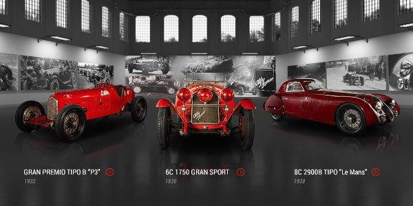 Alfa Romeo s'enrichit d'un musée virtuel