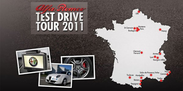 Alfa Romeo Test Drive Tour 2011