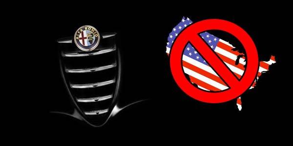 Alfa Romeo aux USA : pas tout de suite !