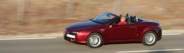 Nouvelle gamme pour l'Alfa Brera