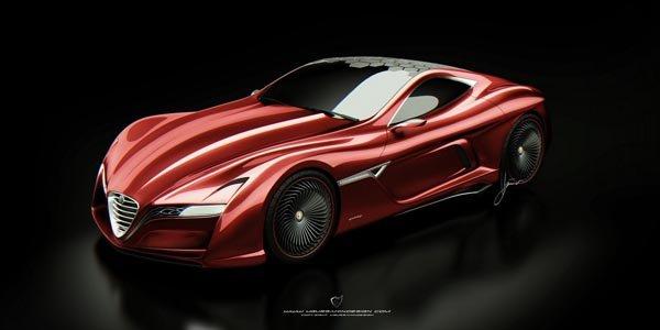 Alfa Romeo C12 GTS Concept : pourquoi pas