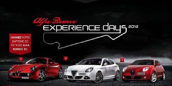 Alfa Romeo Experience Days au Castellet