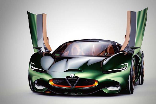 Concept Alfa Romeo Furia par Breshke Design