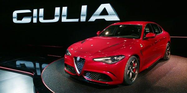 Nouvelle Alfa Romeo Giulia