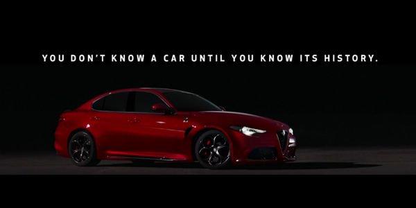 Nouveau teaser pour l'Alfa Romeo Giulia