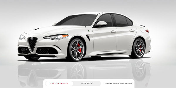configurez votre alfa romeo giulia quadrifoglio verde. Black Bedroom Furniture Sets. Home Design Ideas