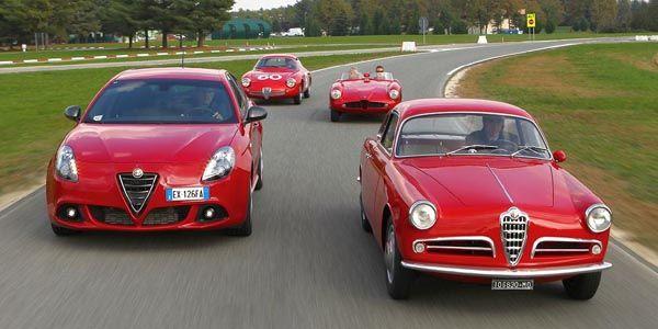 Alfa Romeo célèbre les 60 ans de la Giulietta