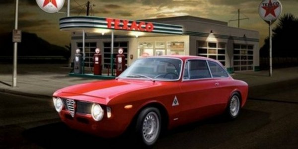 Alfa Romeo haut en tableaux
