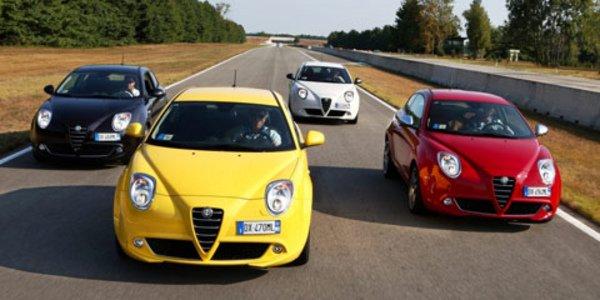 Nouvelle gamme Alfa Romeo MiTo